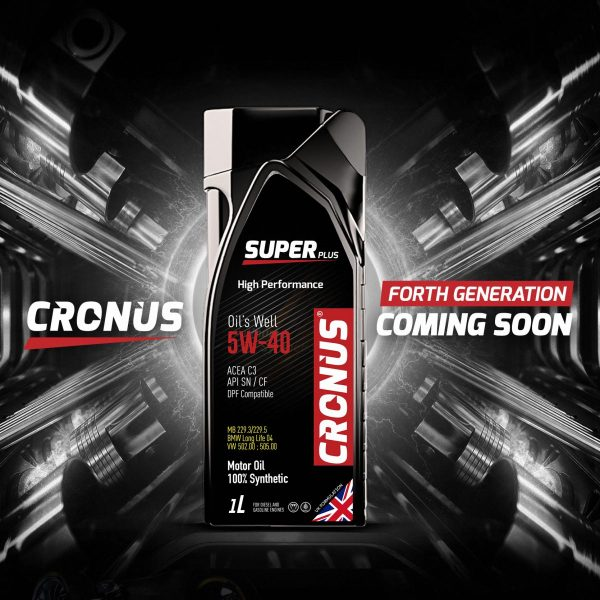 CRONUS SUPER PLUS 5W40 출시예정